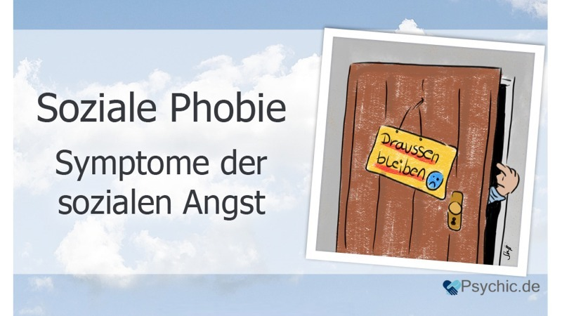 Soziale Phobie Symptome & Anzeichen